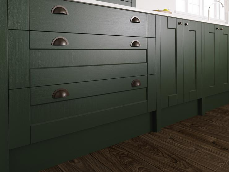 Fairford Dark Green Base Units