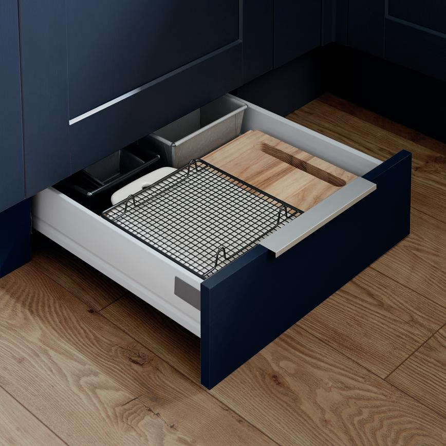 Fairford Navy Drawer Storage Plinth Drawer RT2 - NOT ON STEP