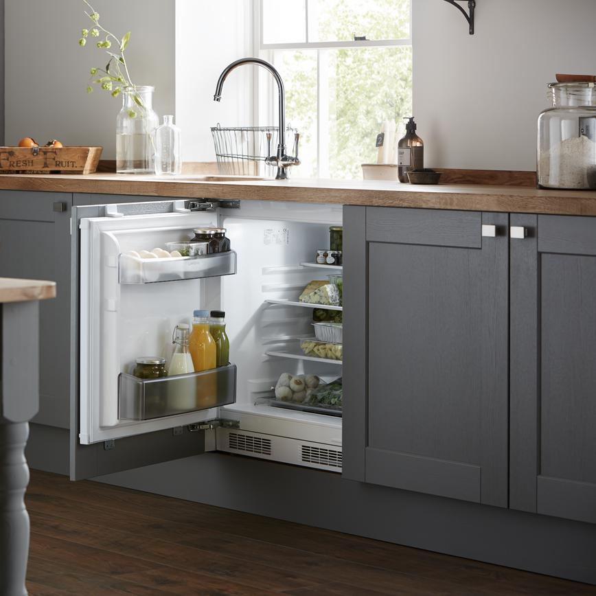 Fairford Slate Grey Fridge 1 RT