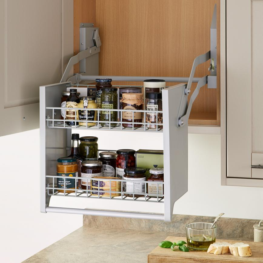 Standard 600mm Pull Down Shelf
