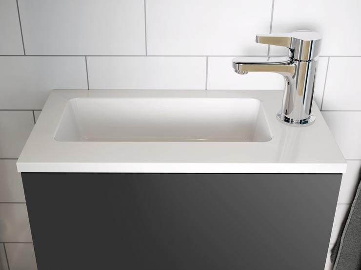 Cloakroom Cameo - White cloakroom sink