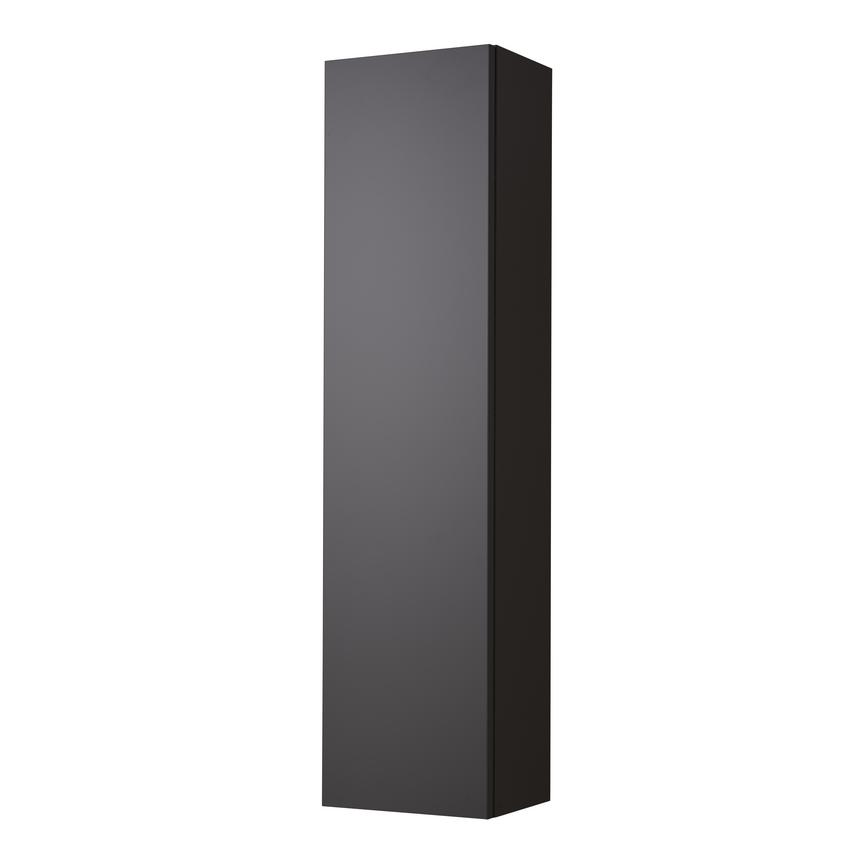 Tall Wall Unit - Gloss Graphite