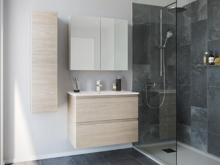 Caprera Small Bathroom Drift Oak