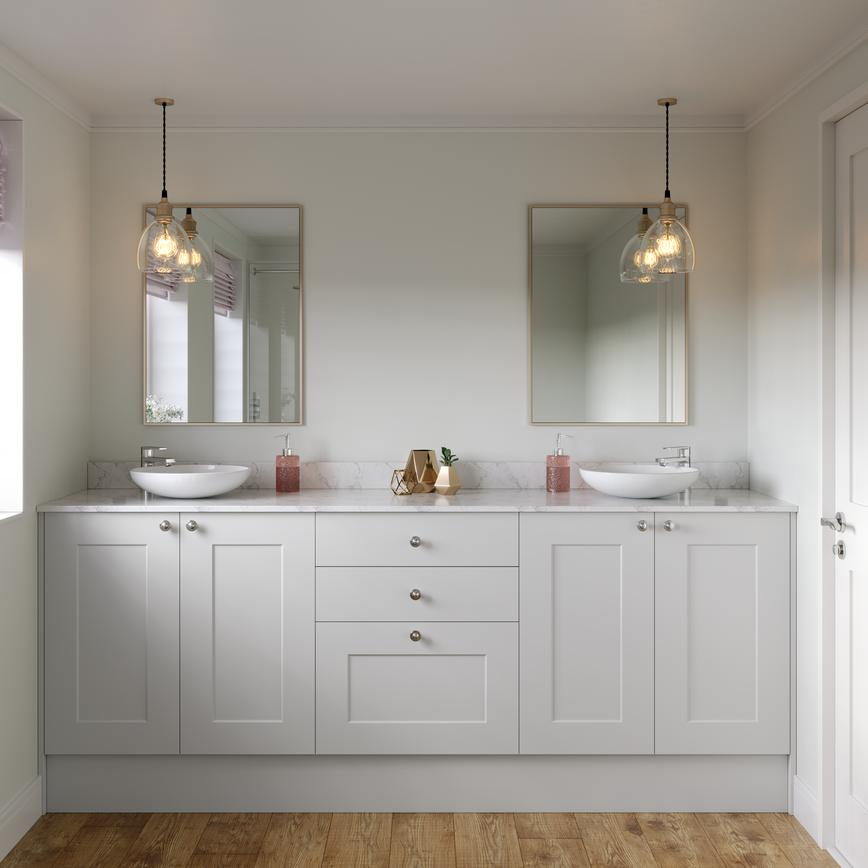 Chelford Dove Grey Bathroom