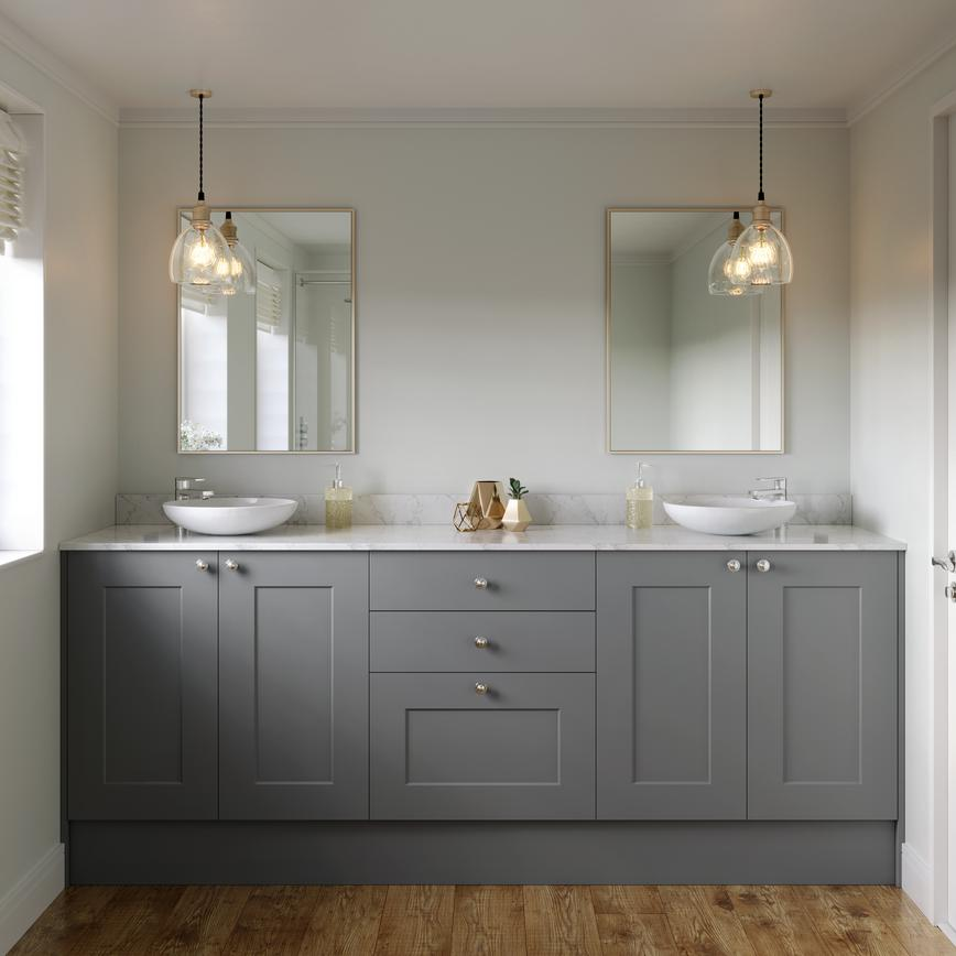 Chelford slate grey bathroom