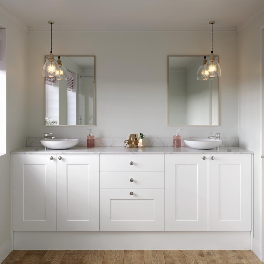 Chelford White Bathroom
