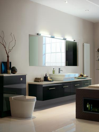 Greenwich Gloss Graphite bathroom
