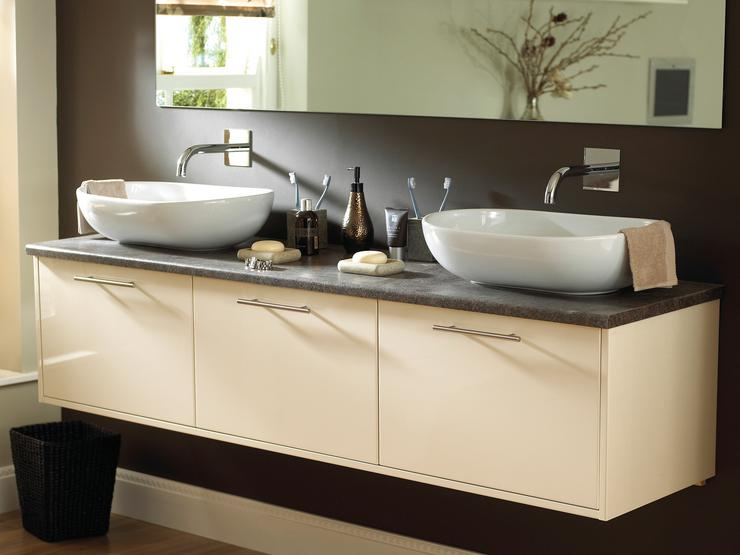 Wall Mounted Deep Vanity Unit