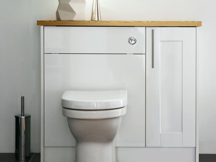 Greenwich Gloss White Cistern Unit