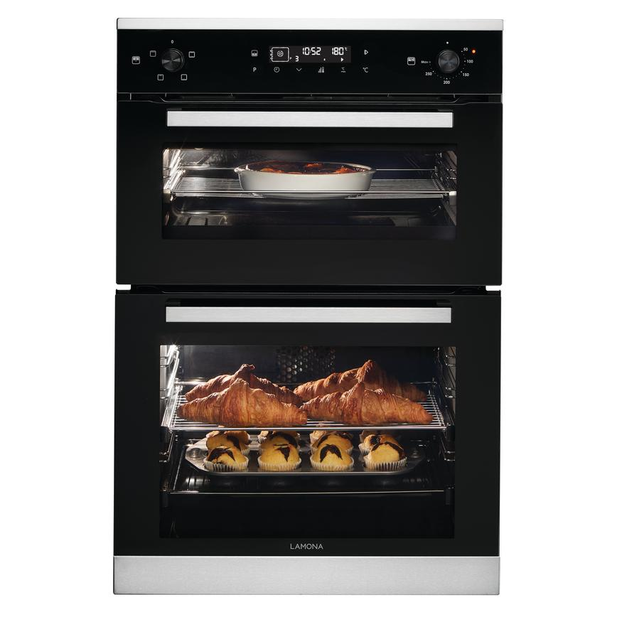 Lamona Touch Control Multi-Function Built-In PIPO Double Oven