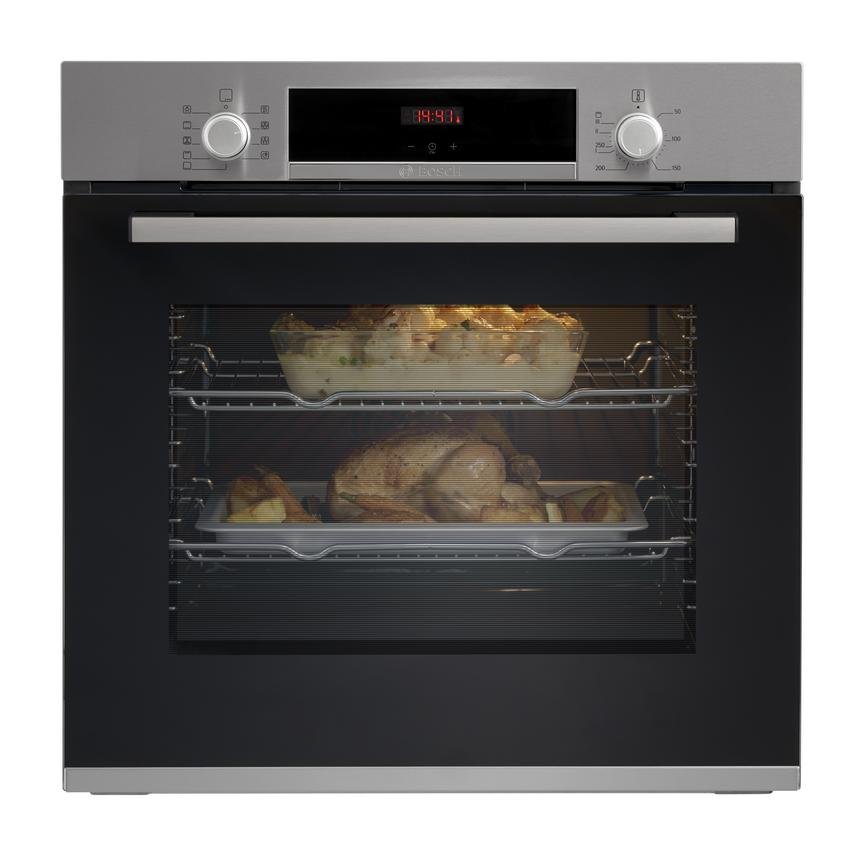 Bosch HBS534BS0B Built In Electric 60cm Stainless Steel Single Oven