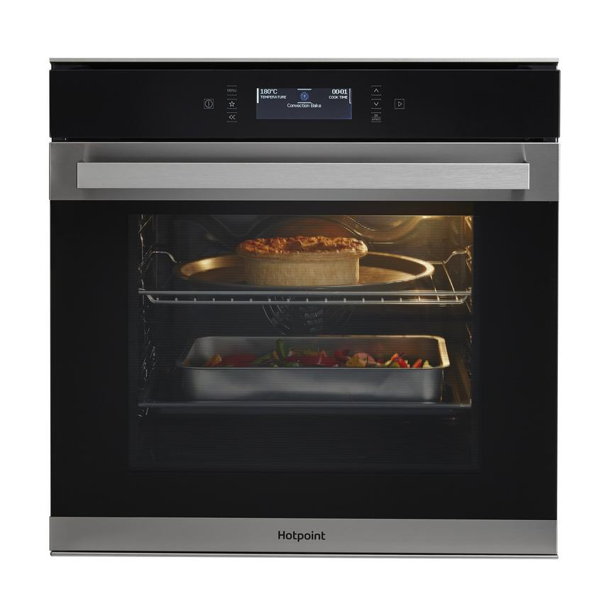 Hotpoint SI7891SPIX Steel Built In Single Oven