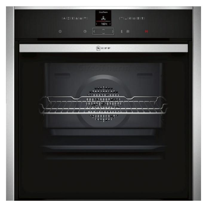 Neff B57CR22N0B Built In Electric 60cm Stainless Steel Single Oven