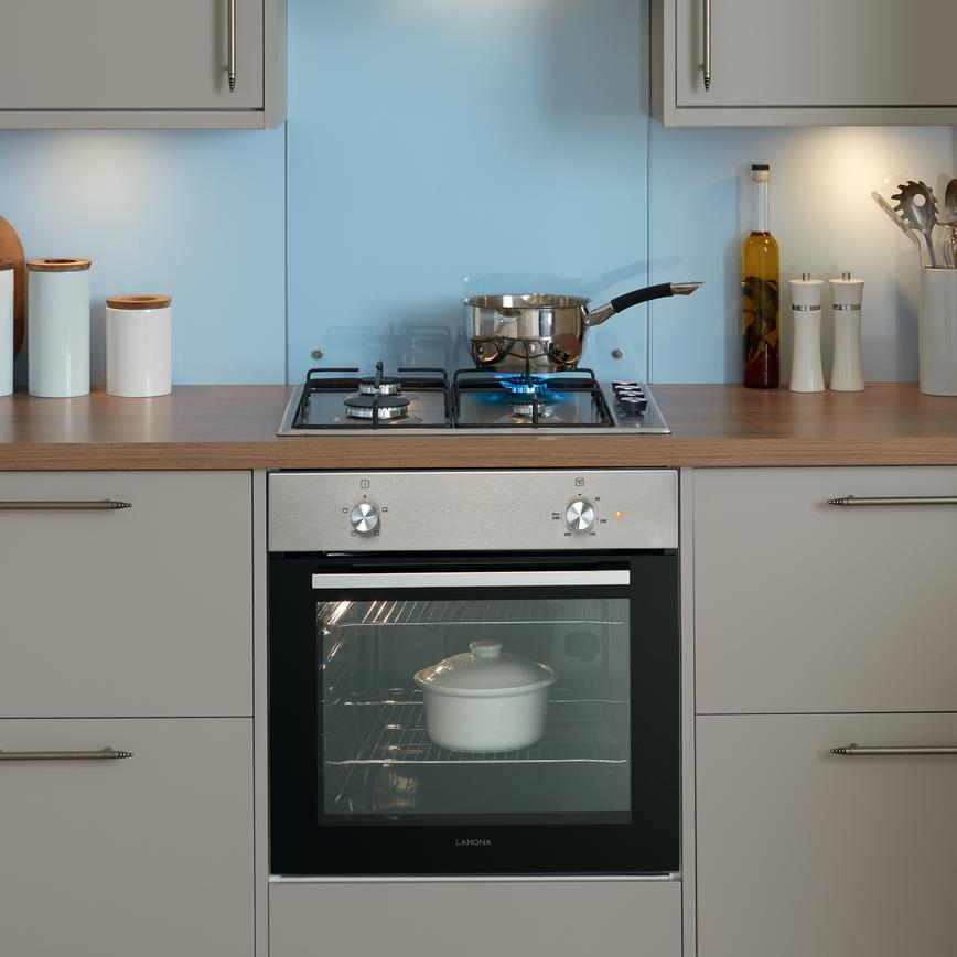 Lamona Single Conventional Oven Stainless Steel Howdens Joinery