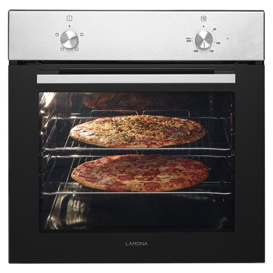 Lamona LAM3209 Built In Electric 60cm Stainless Steel Single Oven