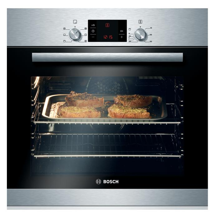 Bosch HBA23B151B Built In Electric 60cm Stainless Steel Single Oven