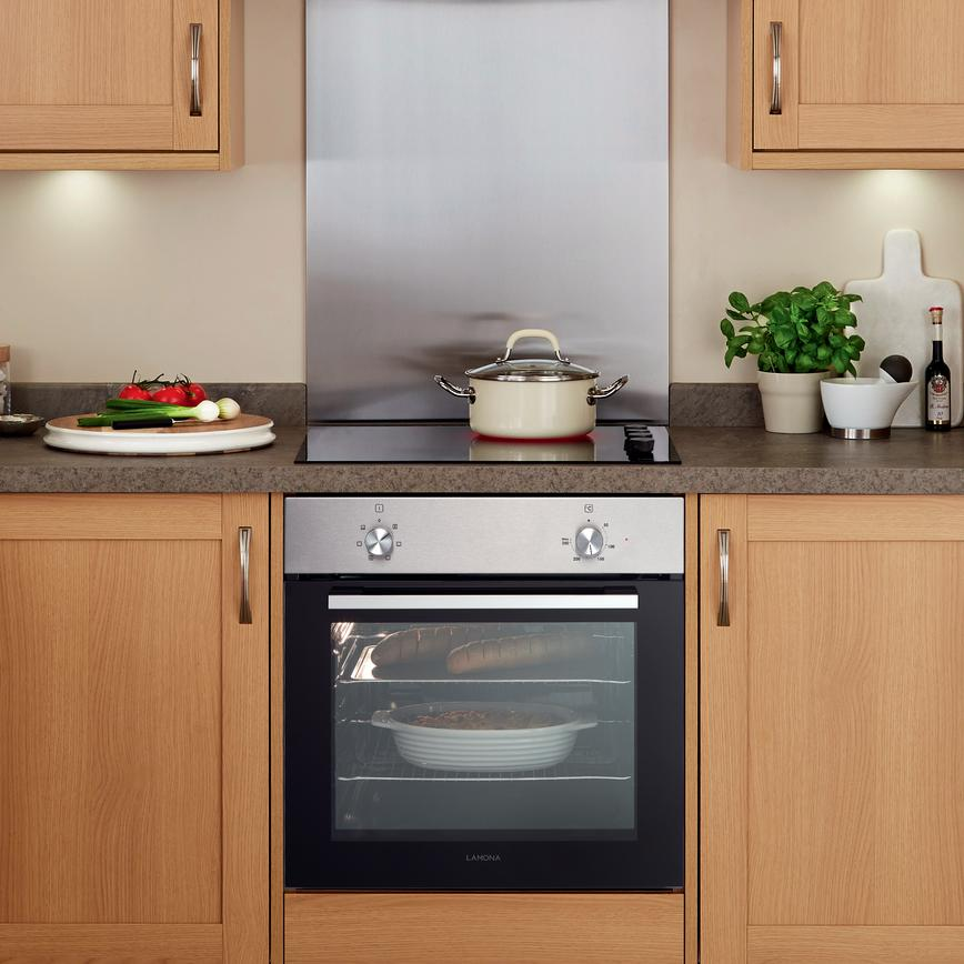 Lamona Single Fan Isted Oven Stainless Steel