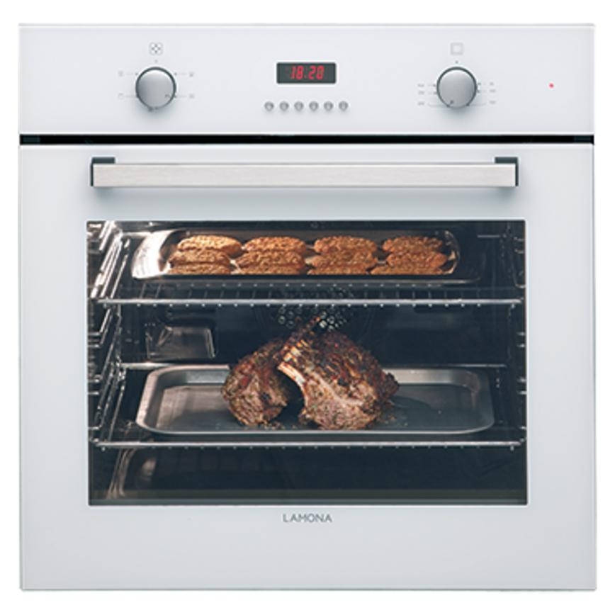 Lamona White Single Fan Oven
