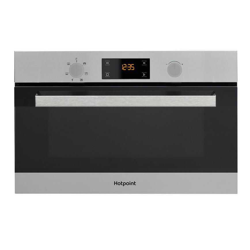 Hotpoint MD 344 IX H Built In 60cm Stainless Steel Microwave With Grill