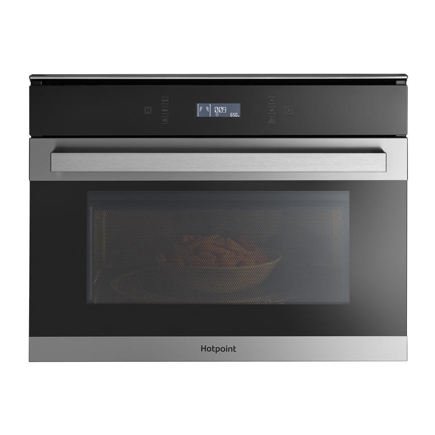 Hotpoint MP 776 IX H Built In 60cm Stainless Steel Combination Microwave Oven