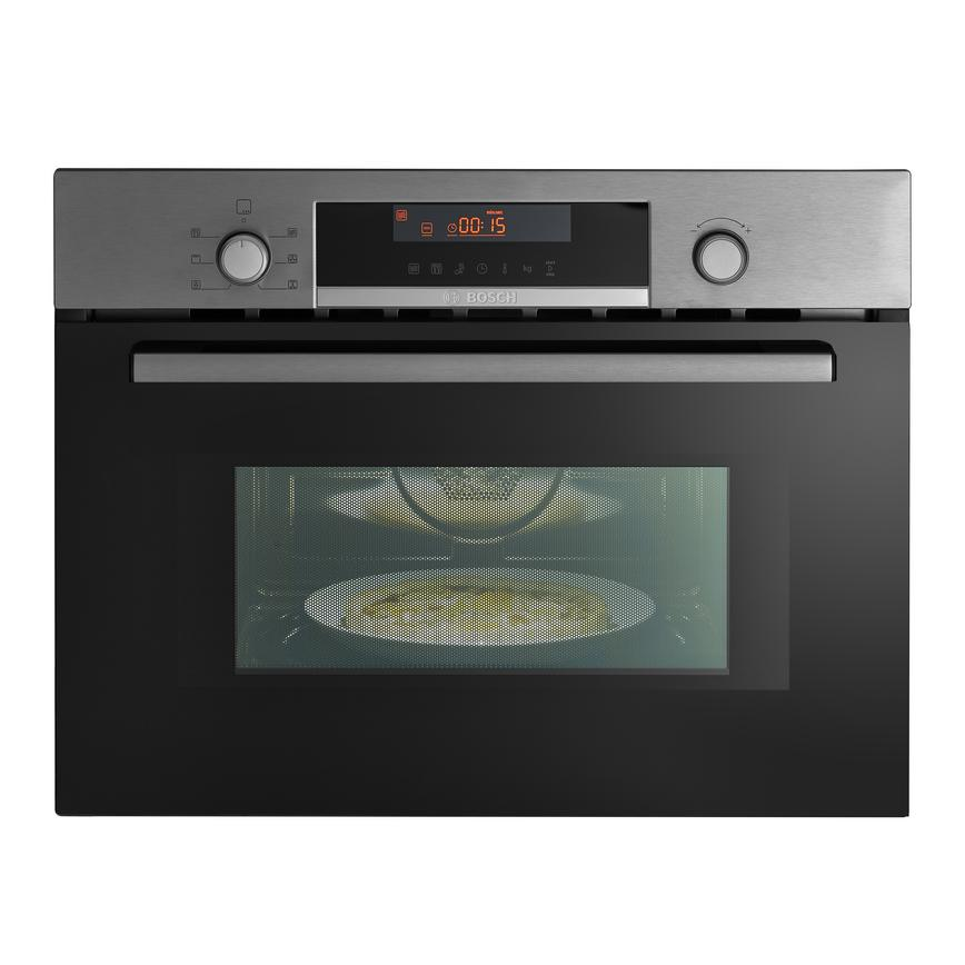 Bosch CMA583MS0B Built In 60cm Stainless Steel Combination Microwave Oven
