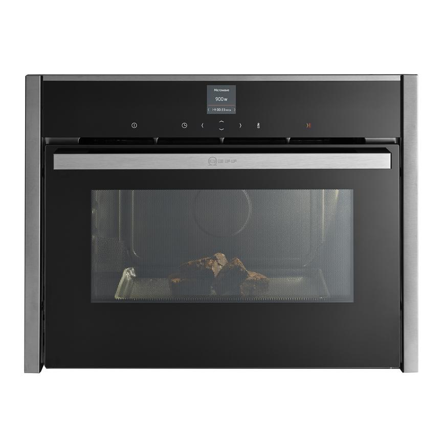 Neff C17UR02N0B Built In 60cm Stainless Steel Microwave