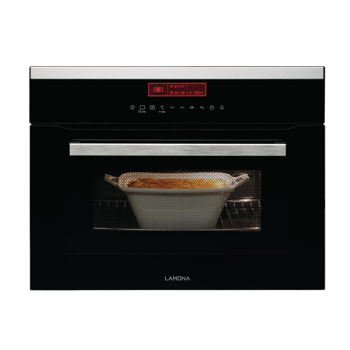 Lamona LAM7002 Built In 60cm Stainless Steel Combination Microwave Oven