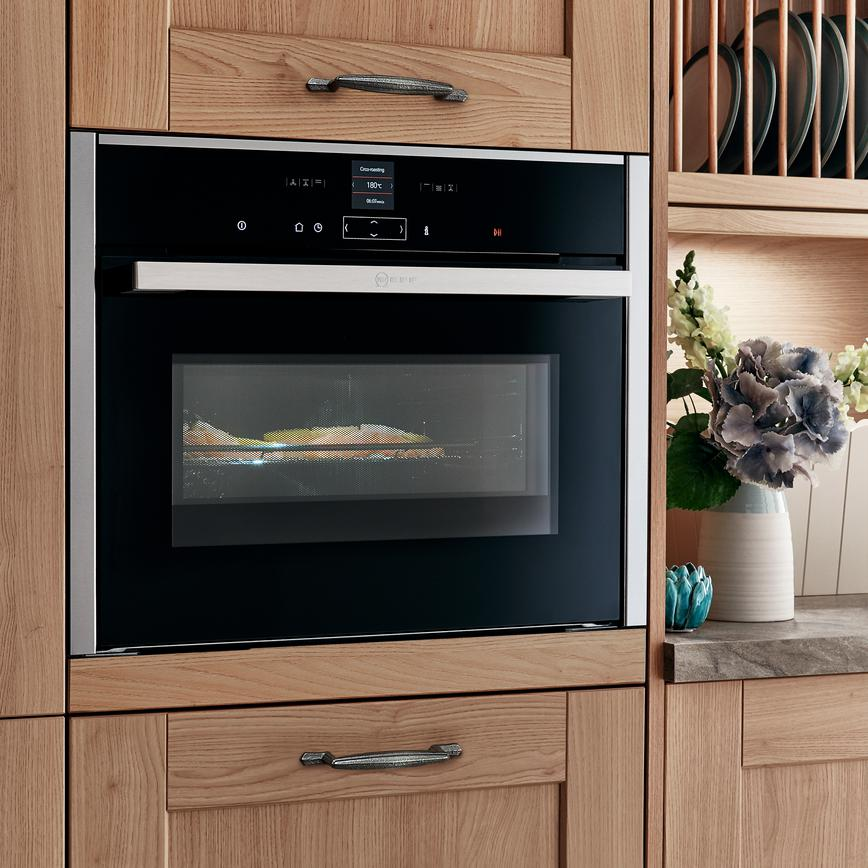 Neff Integrated Combination Microwave Stainless Steel