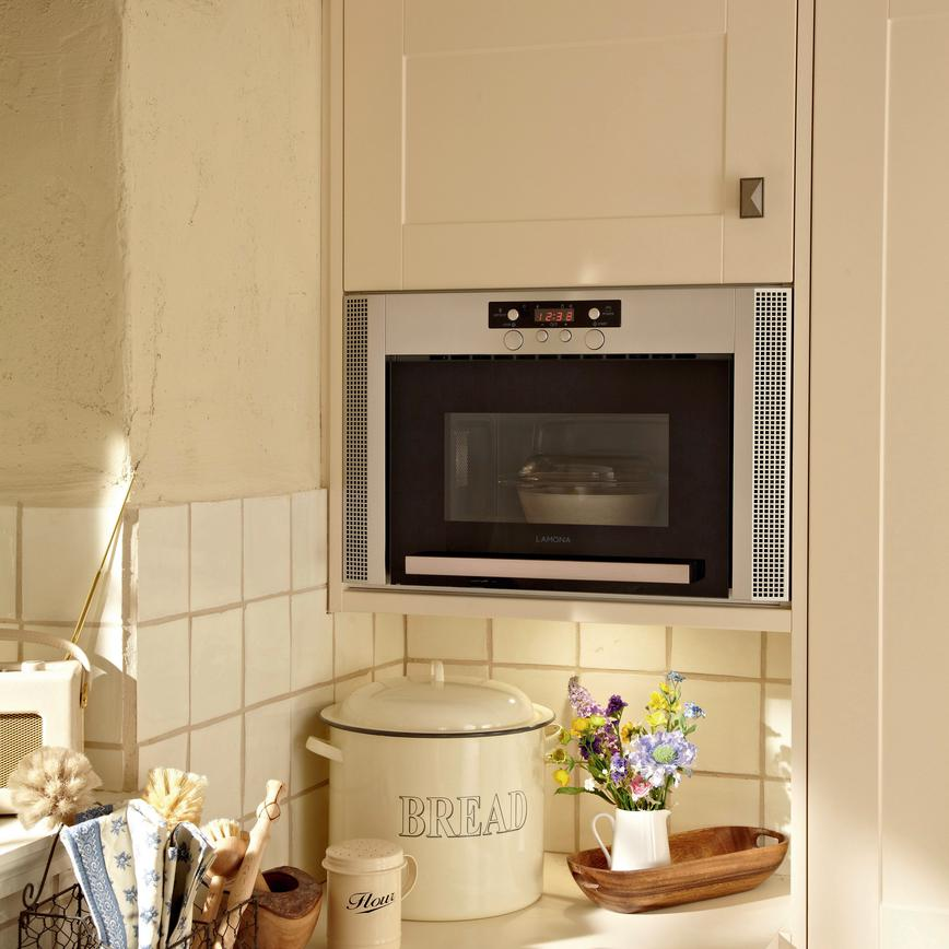 Lamona Built In Wall Unit Microwave Stainless Steel