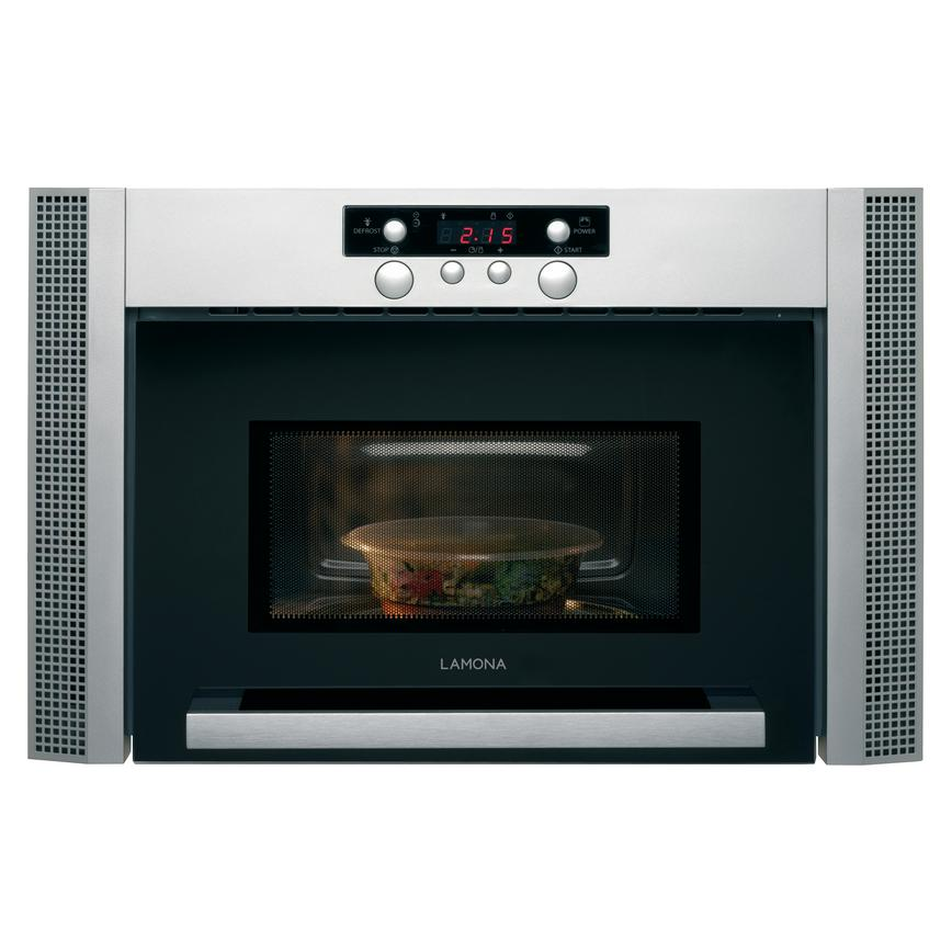 Lamona HJA7030 Wall Mounted 60cm Stainless Steel Microwave