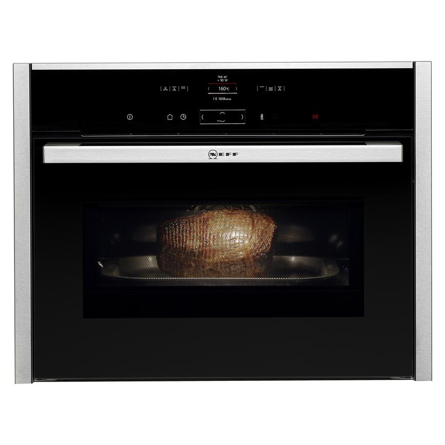 Neff C17MR02N0B Built In 60cm Stainless Steel Combination Microwave Oven
