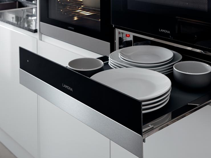 Lamona Touch Control Pyrolytic Oven, Touch Control Combination Microwave and Warming Drawer