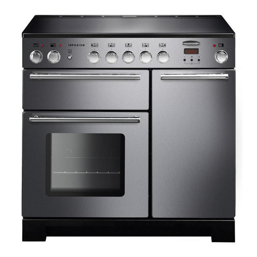 Rangemaster Infusion INF90EISS 90cm Induction Stainless Steel Range Cooker