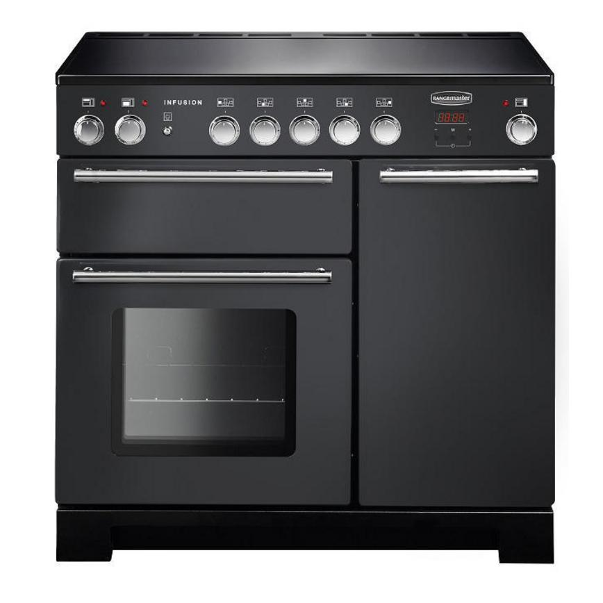 Rangemaster Infusion INF90EISL 90cm Induction Slate Range Cooker