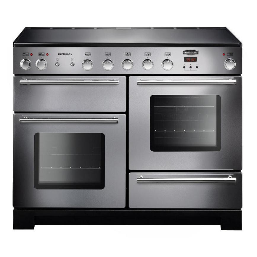 Rangemaster Infusion INF110EISS 110cm Induction Stainless Steel Range Cooker