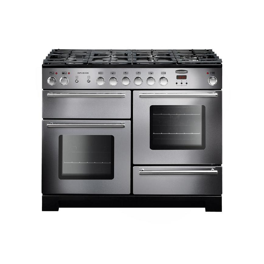 Rangemaster Infusion INF110DFFSS 110cm Dual Fuel Stainless Steel Range Cooker