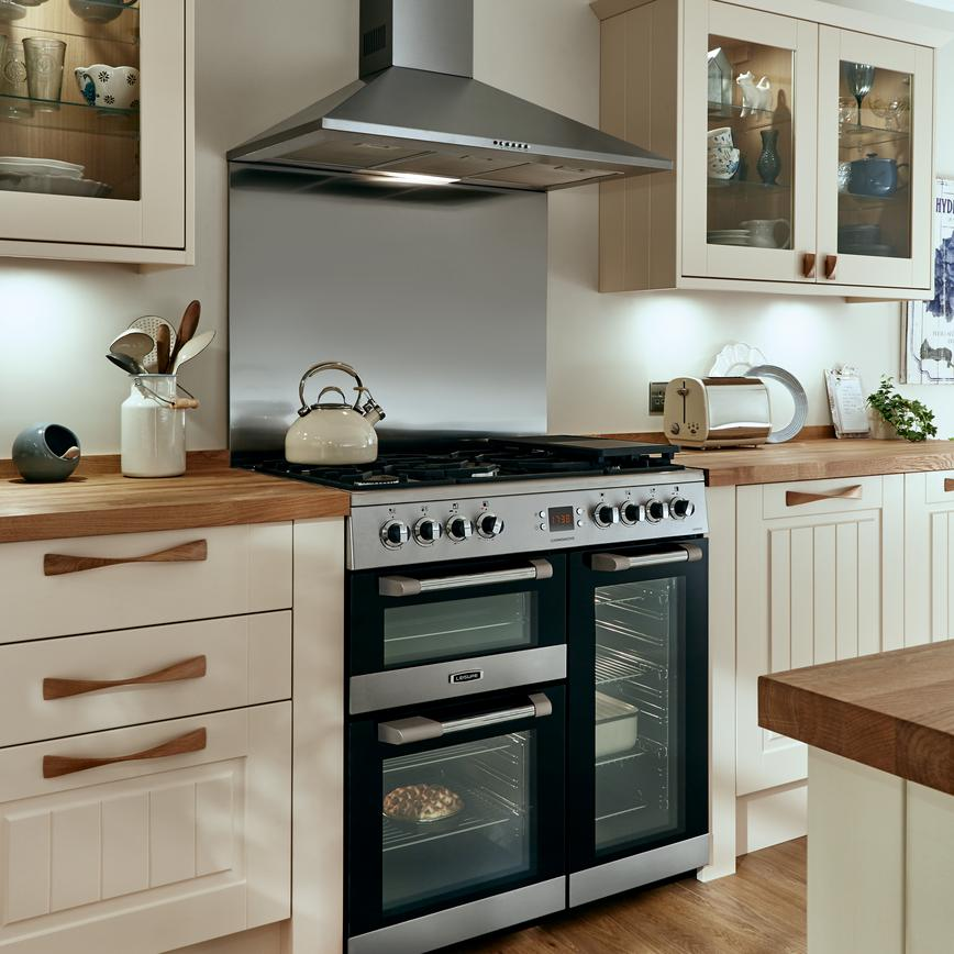 Kitchen Design Range Cooker: Leisure 90cm Range Cooker - Stainless Steel
