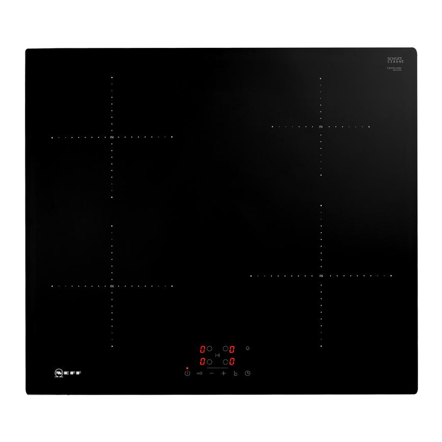 Neff T36FB41X0G 60cm Black Electric Induction Hob