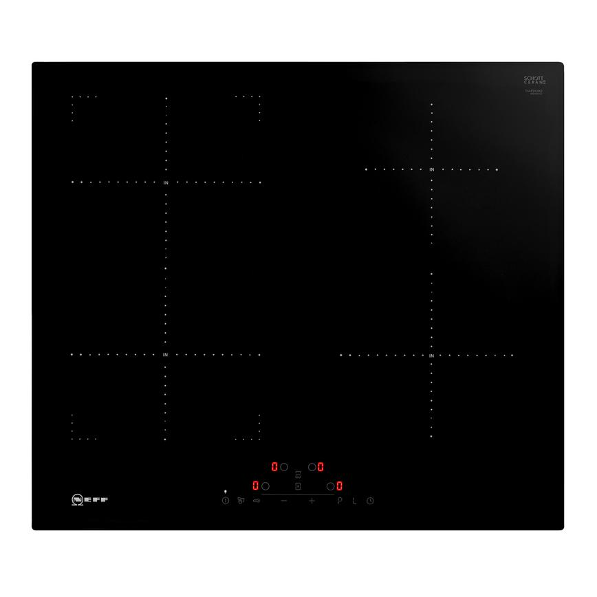 Neff T46FD53X2 60cm Black Electric Induction Hob