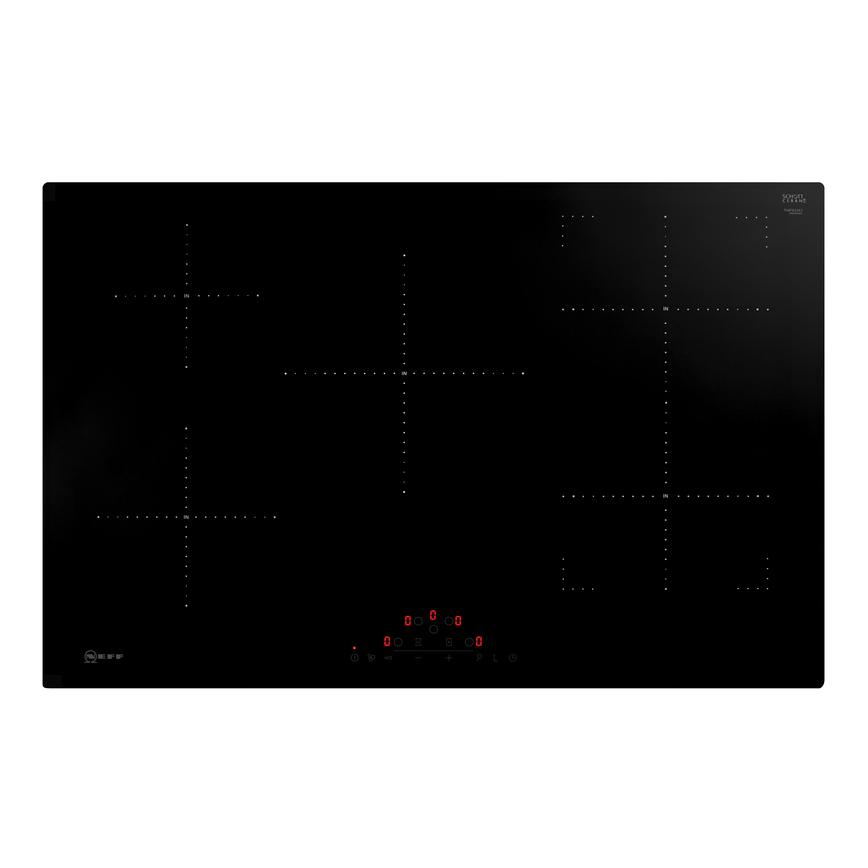 Neff T48FD23X2 80cm Black Electric Induction Hob