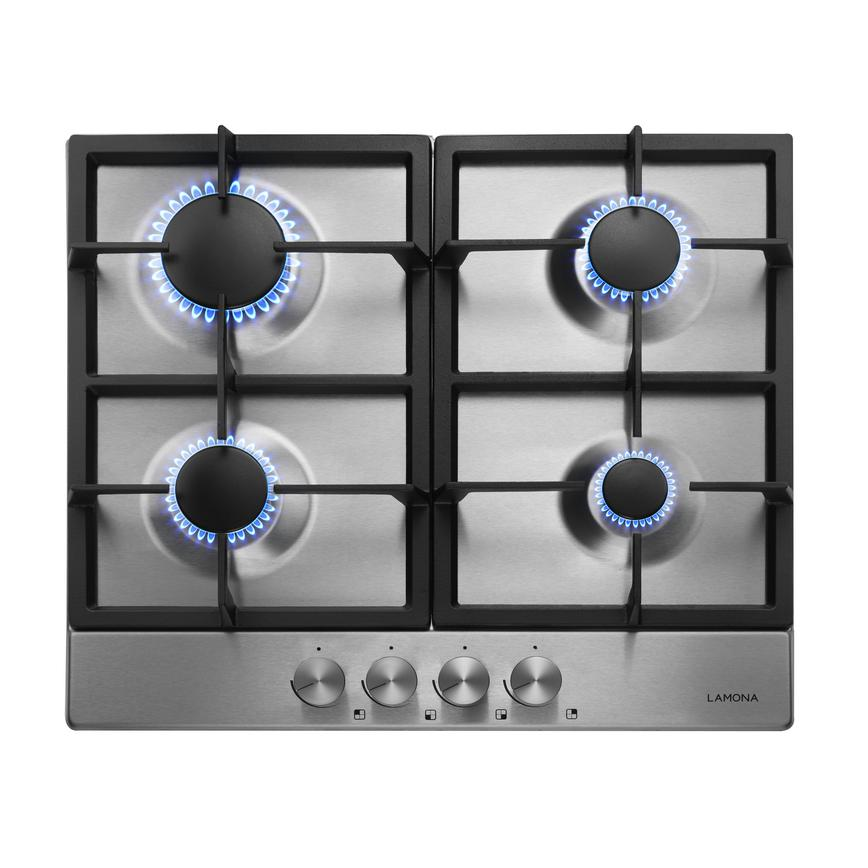 Lamona LAM1110 60cm Stainless Steel Gas Hob