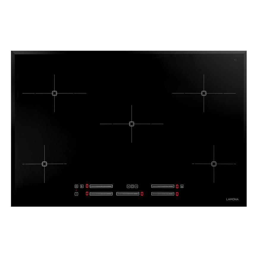 Lamona LAM1902 80cm Black Electric Induction Hob