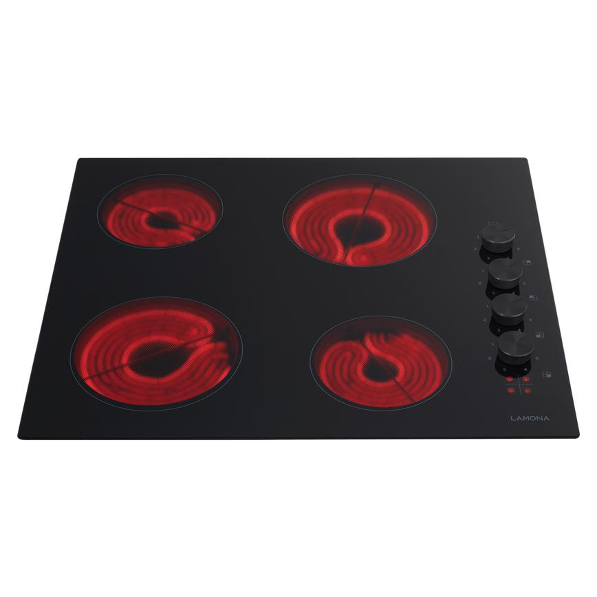 Lamona LAM1704 60cm Black Electric Ceramic Hob
