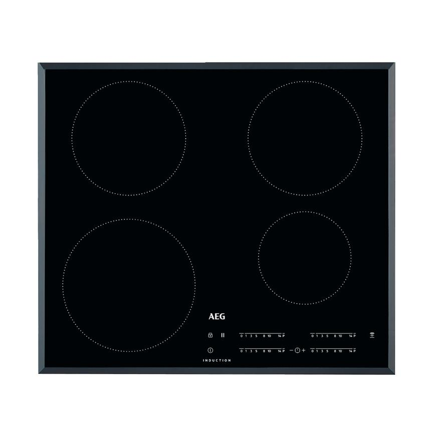 AEG IKB6440HFB 60cm Black Electric Induction Hob