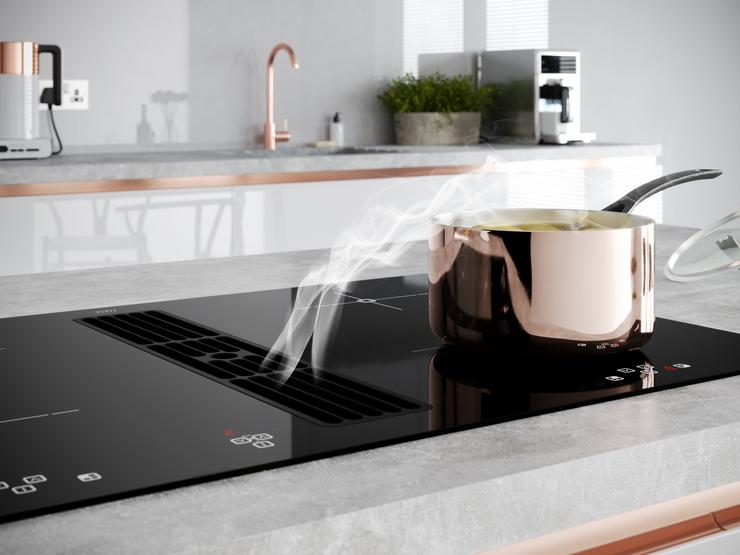 Combi Hob And Hood Extractor 01