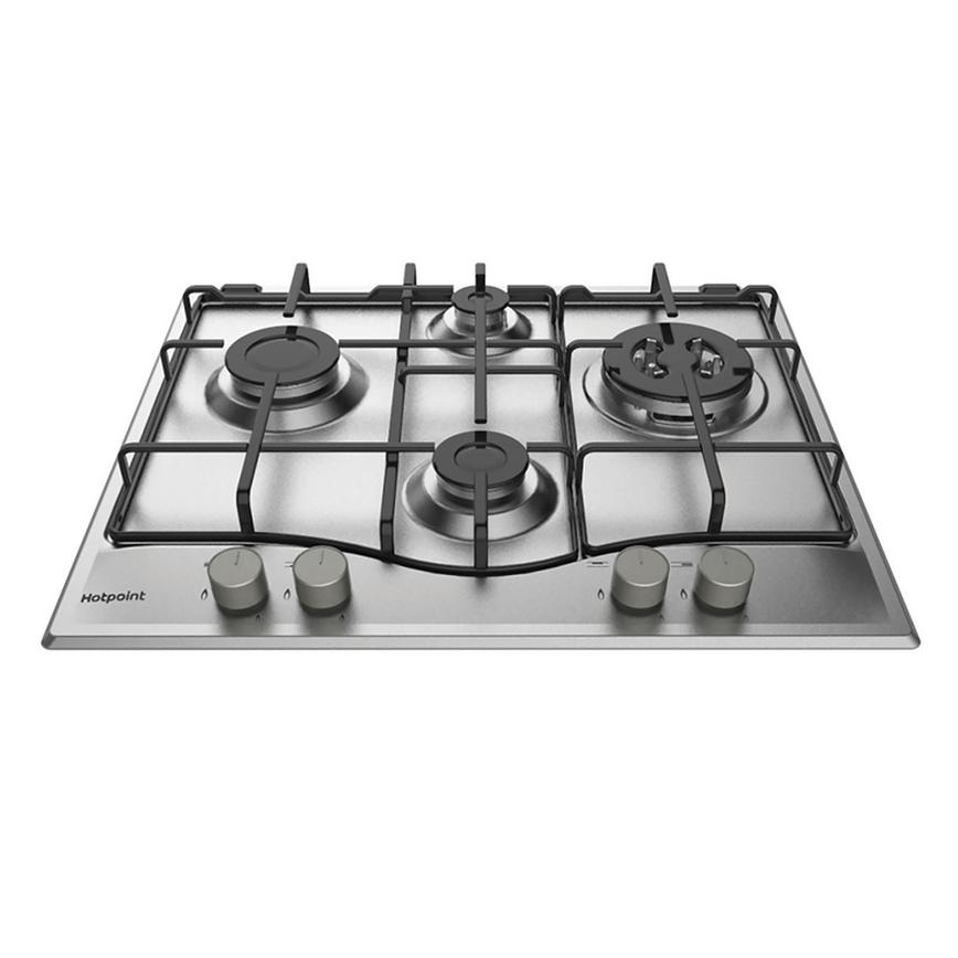 Hotpoint PCN 641 T/IX/H 75cm Stainless Steel Gas Hob
