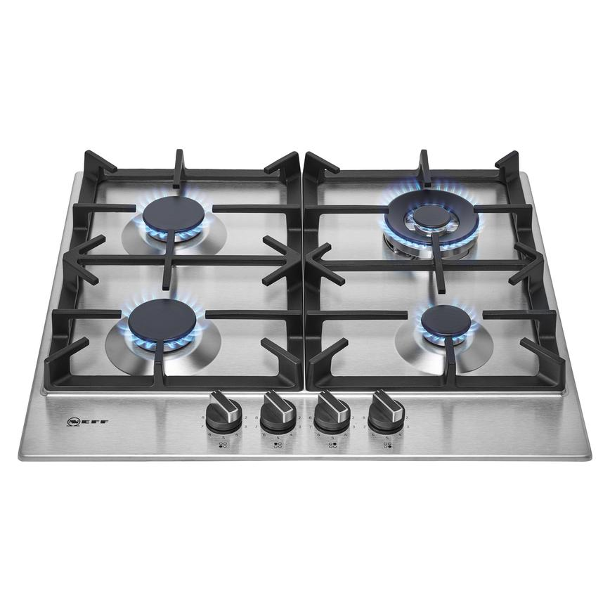 Neff T26DS59N0 60cm Stainless Steel Gas Hob