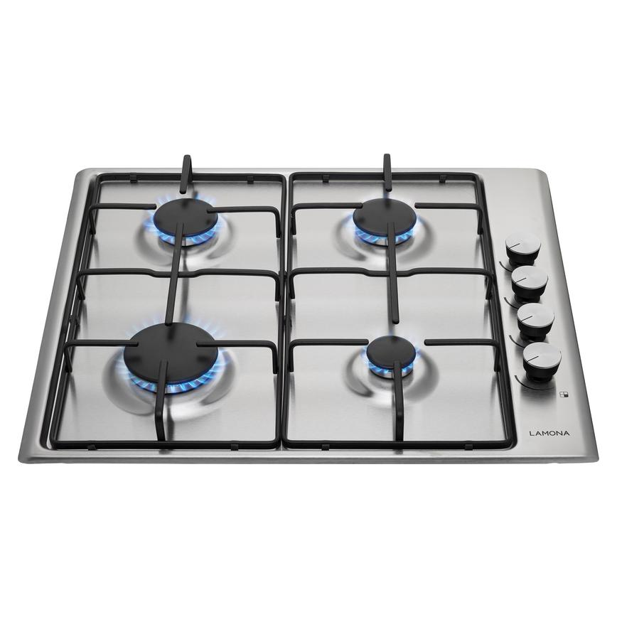 Lamona LAM1006 60cm Stainless Steel Gas Hob