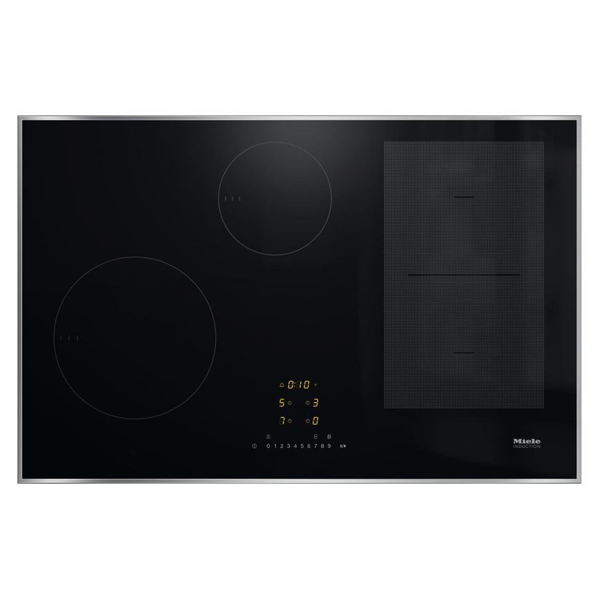 Miele 80cm 4 Zone Flex Induction with H/C KM7474FR