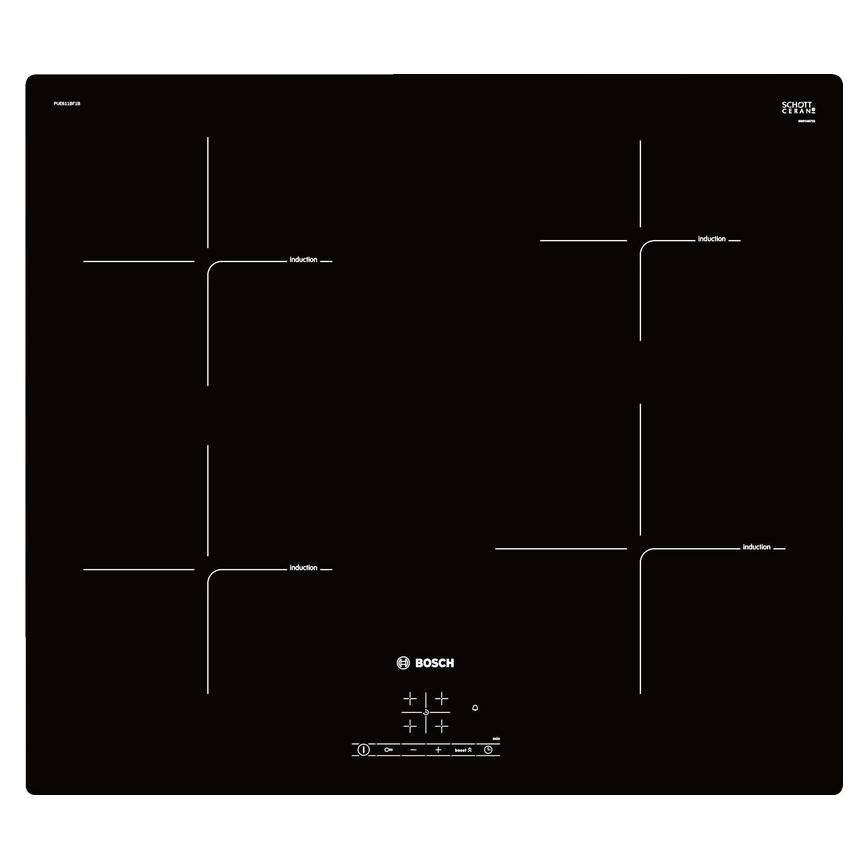 Bosch touch control 4 zone induction hob